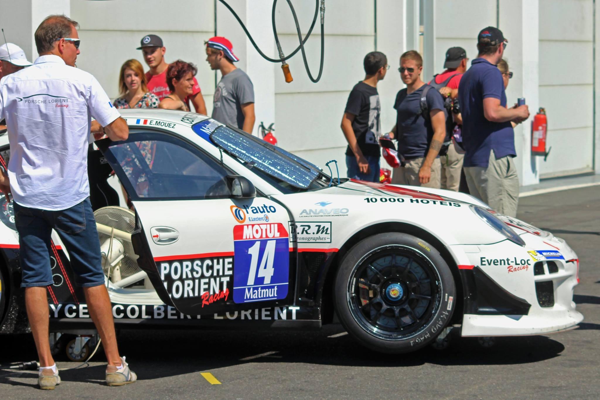 Frédéric Ancel avec la GT3 R n°14 photo de VM Photos
