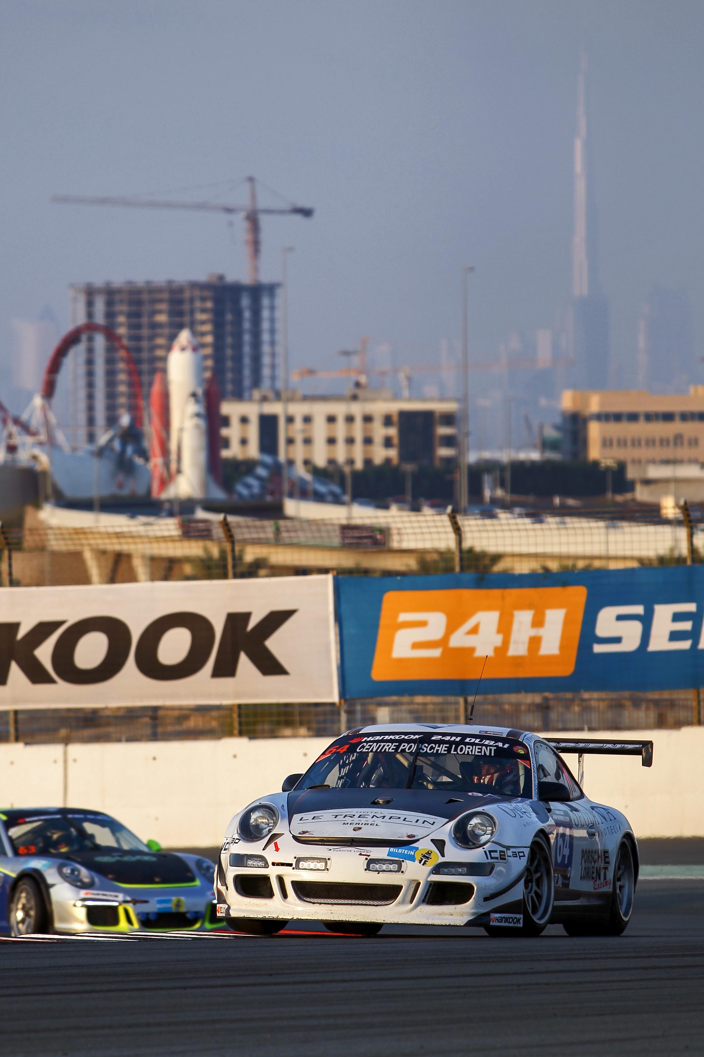 Vidéos des 24h de Dubai 2016 du Porsche Lorient Racing