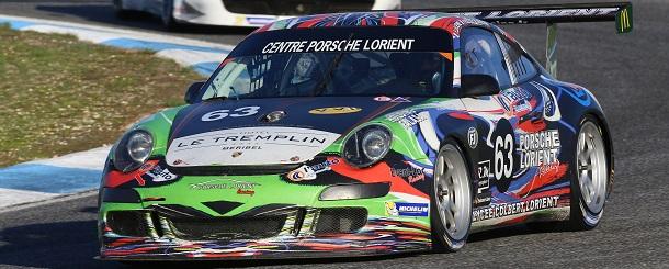 La Porsche 997 GT3 CUP S n°63
