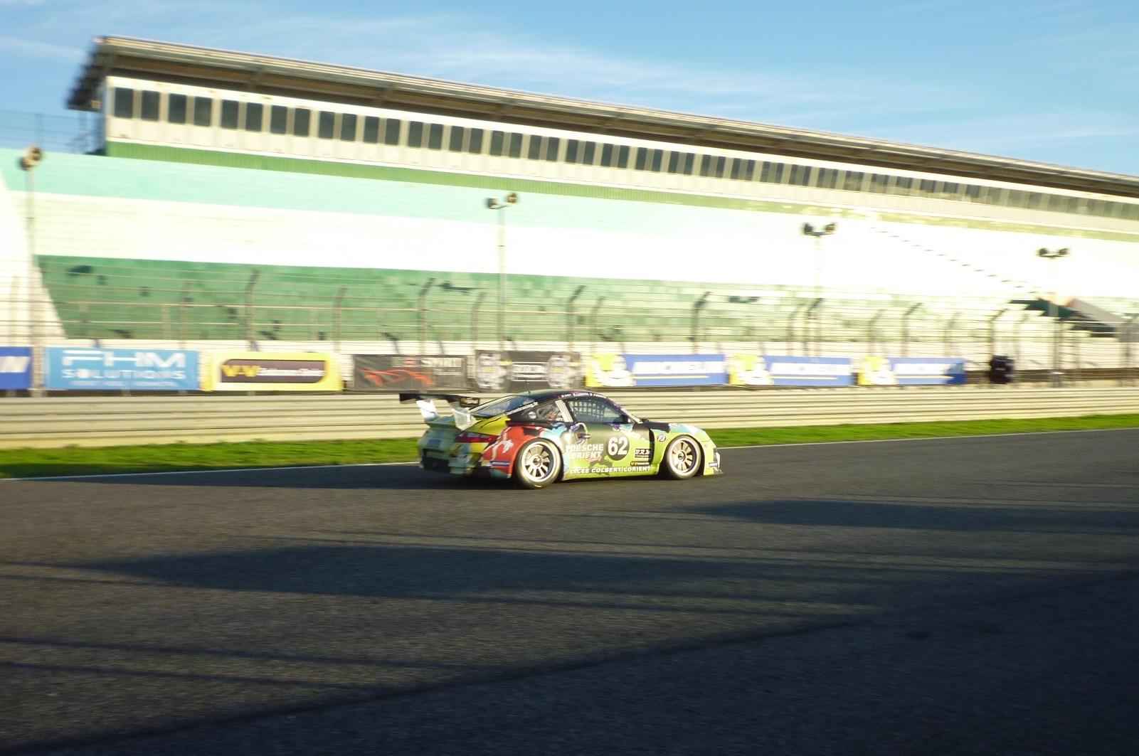La Porsche 997 GT3 CUP S n°62