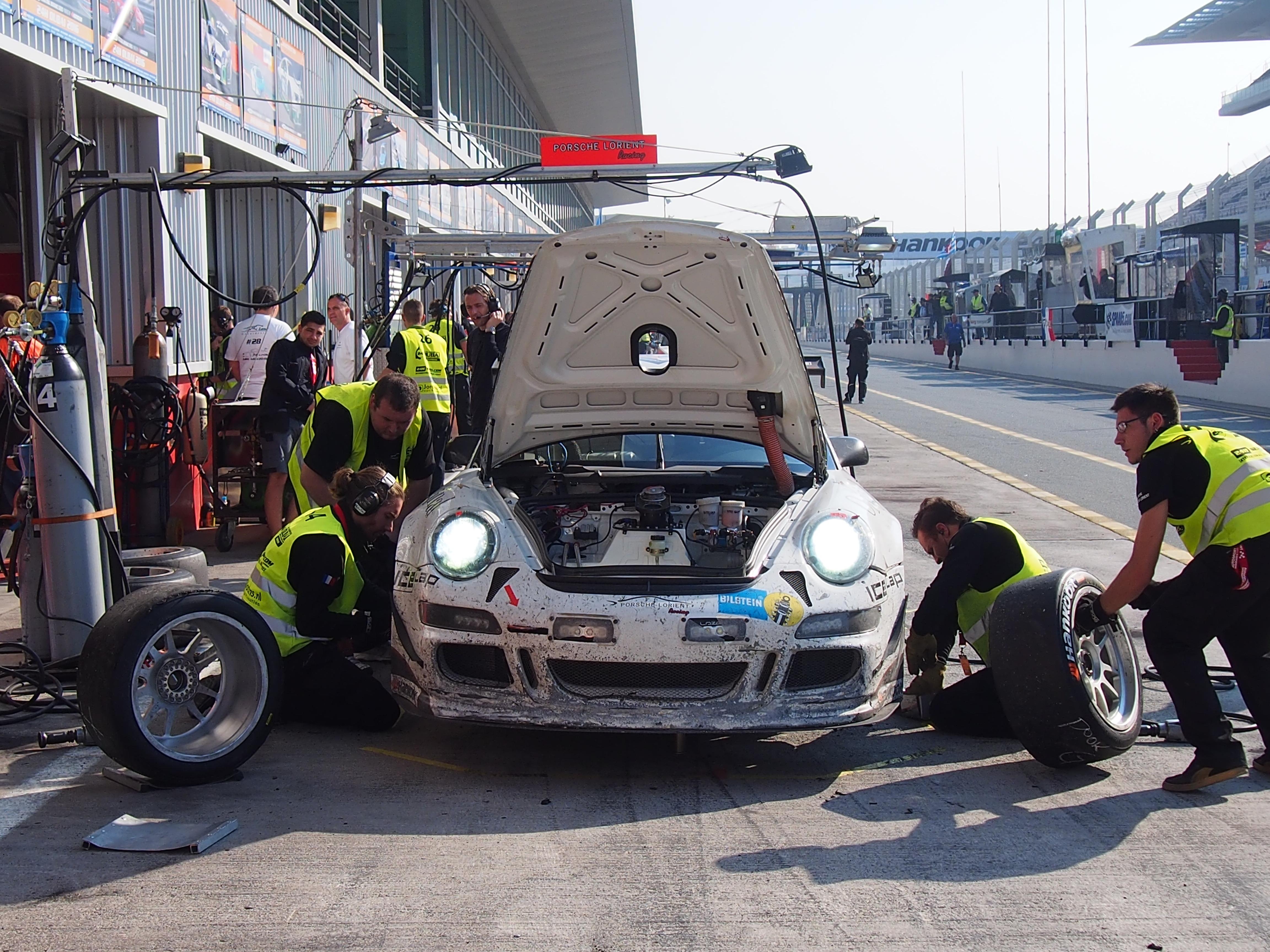 24h De Dubai intervention mécanique